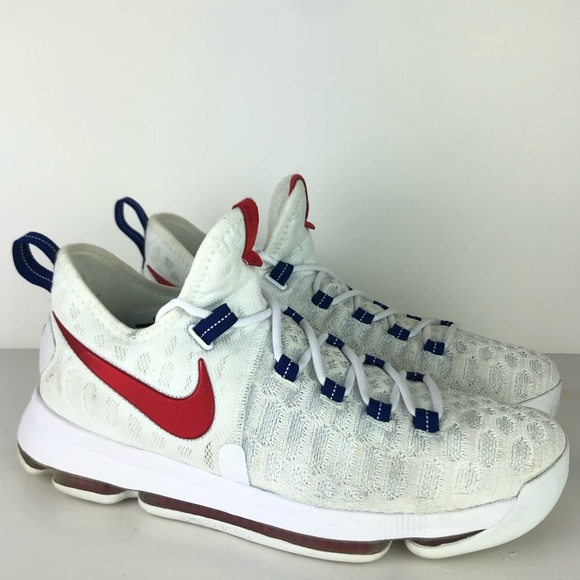 the latest 69f8c 200d4 Nike Zoom KD 9 USA Independence Day Kevin Durant
